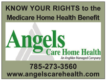 Angels Care Home Health web ad