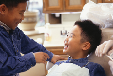 Worry-free dental care for children
