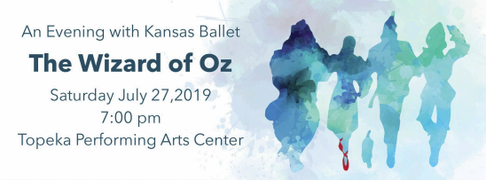 Kansas Ballet's Wizard of Oz!
