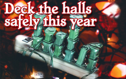 Deck the Halls safely thisyear